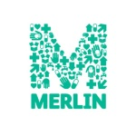 The logo for Merlin