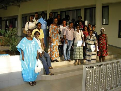 Women from East Africa region at a treatment literacy workshop in 2005: Photo: ICW East Africa
