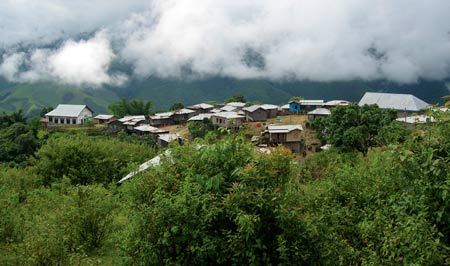 A village in Chin; Photo: Merlin