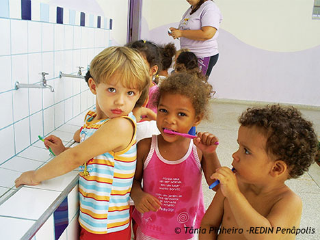 Children-from-REDIN-Penapolis - a network to promote early childhood education.