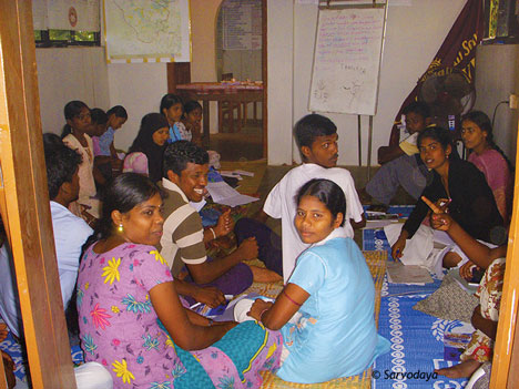 Community health training