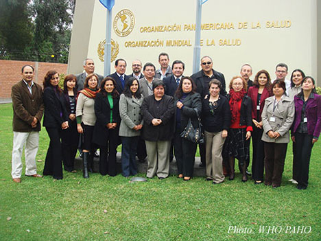 Representatives of the Andrean Observatory meet in Lima to share research results
