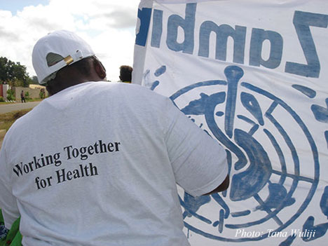 2006 World Health Day in Zambia